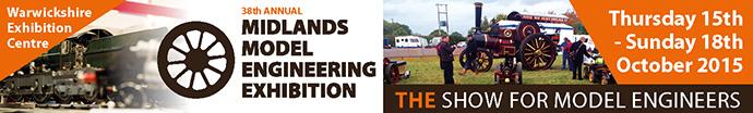 The Midlands Model Engineering Exhibition 2015