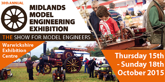 38th Annual Midlands Model Engineering Exhibition